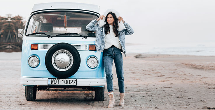 Odzież jeansowa damska